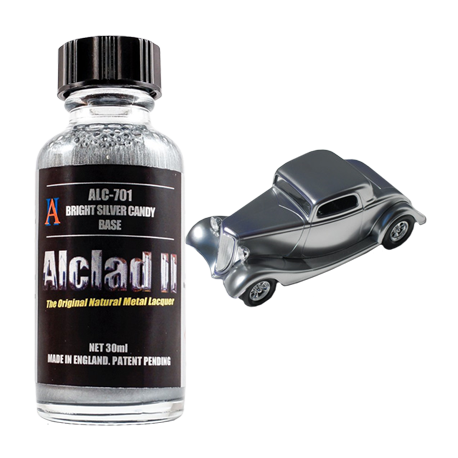 Alclad II Candy Paints - Bright Silver Base