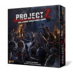 PROJECT Z - The Zombie Miniatures Game - Spanish