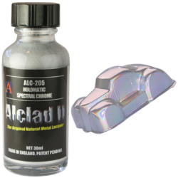 Alclad II Prismatic & Holomatic Paints - Holomatic - Chrome
