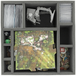 85mm (3.35 inches) foam tray for Star Wars Imperial Assault board game box