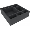 285mm x 285mm x 85mm (3.35 inches) foam tray for board game boxes