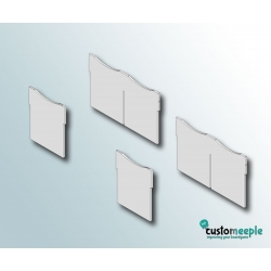 IPF Insert Divider (2 Double and 2 Simple)