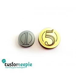 Numeral Coins Pack