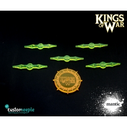 Kings of War Deployment Area Markers