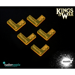 Kings of War Wavering Markers (5 Units)