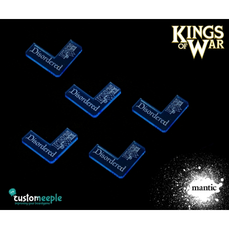 Kings of War Disordered Markers