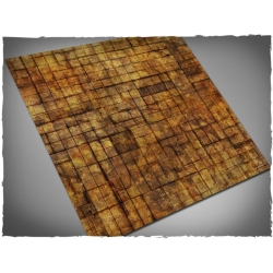 3ft x 3ft, Underhive Theme Cloth Games Mat