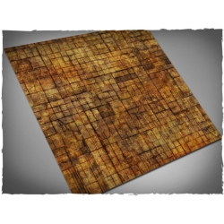 4ft x 4ft, Underhive Theme Cloth Games Mat