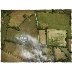 4ft x 4ft, Aerial Field Theme Mousepad Games Mat
