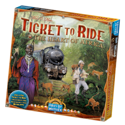 Ticket To Ride Heart of Africa Map Collection