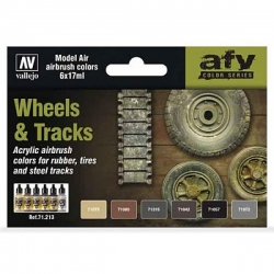 Model Air Set - Wheels and Tracks
