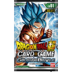 Dragonball Super Card Game: Galactic Battle Booster B01