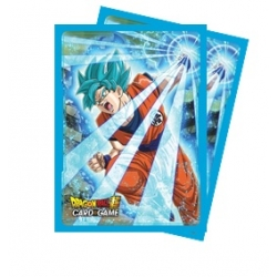 Dragon Ball Super: Std Deck Sleeves 65ct. Super Saiyan Blue Son Goku
