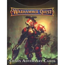 Warhammer Quest: Chaos Adversary Cards - French