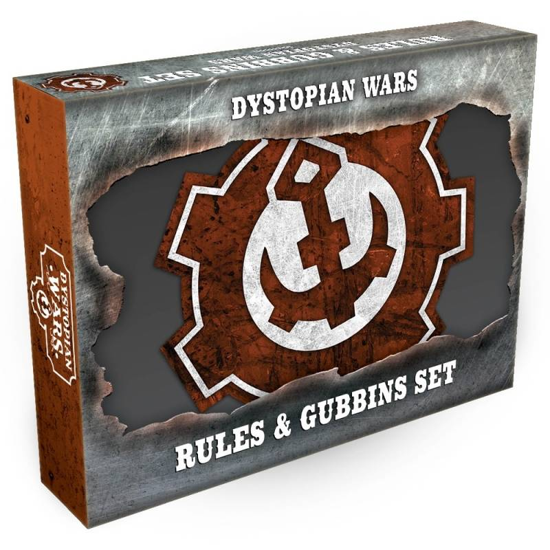 Dystopian Wars Rules and Gubbins Set